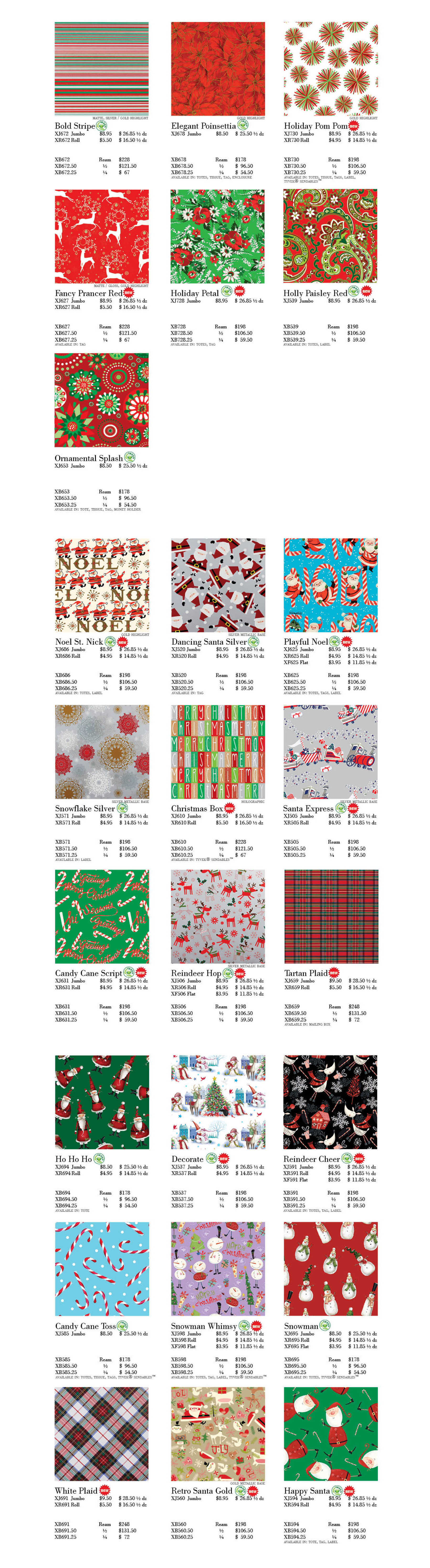 More Holiday Wraps