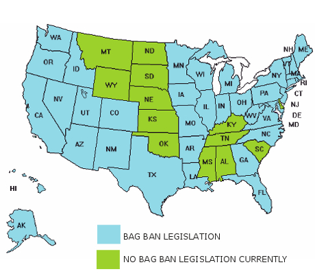 Bag Compliance Laws vary from state to state
