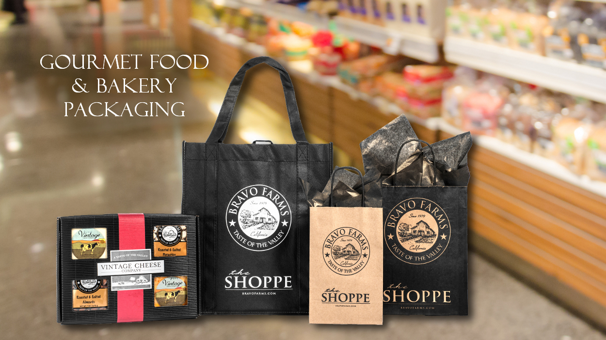 Gourmet Food & Bakery Packaging